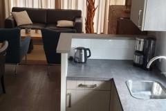 Chalet Newport 22 - Küche Richtung Wohnzimmer