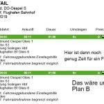 Fahrdetails der S-Bahn von Oespel nach Düsseldorf-Flughafen